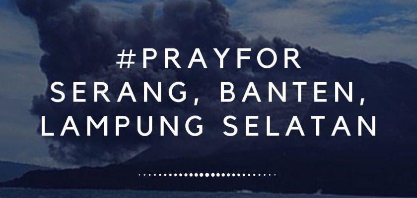 """Literasi Kita Indonesia """"Pray For """"Serang, Banten, Lampung Selatan"""""""