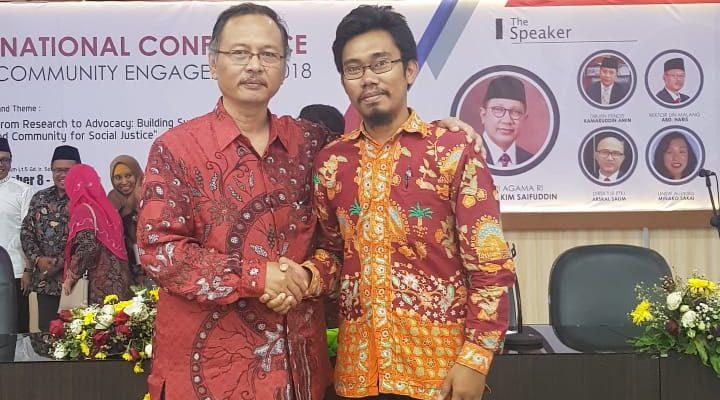 """Rektor UIN Malang, """"Pengabdian Kepada Masyarakat"""" Sekolah Literasi"""