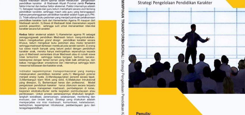 Editor Buku Ilmiah: Kepemimpinan Transformasional