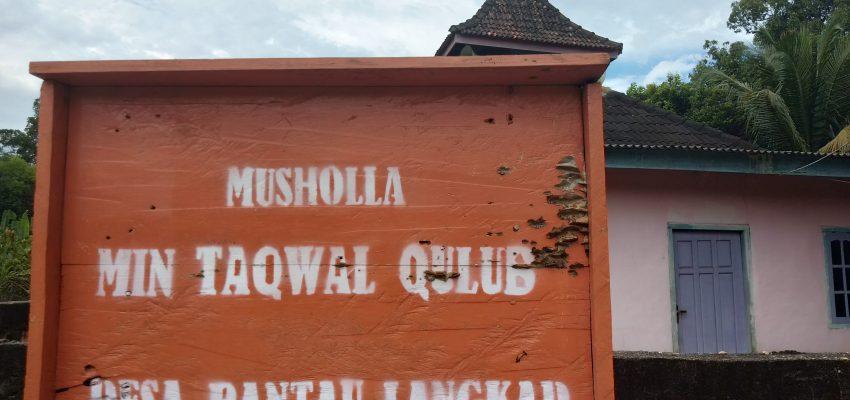 Musholla Min Taqwal Qulub Desa Rantau Langkap