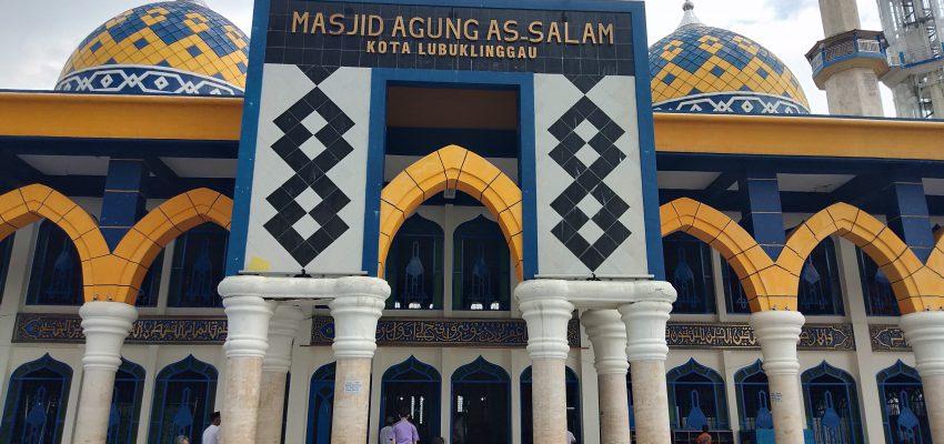 """Masjid Agung As-Salam Lubuklinggau """"Syiar Islam Rahmatan Lil'alamin"""""""