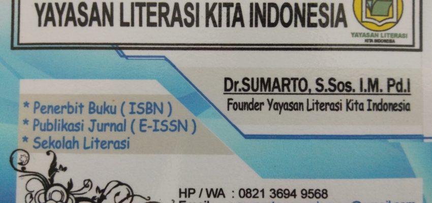 Ayo Gabung di Komunitas Yayasan Literasi Kita Indonesia