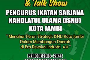 "Pengurus Yayasan Literasi Kita Indonesia Jambi ""Selamat atas Pengukuhan Pengurus ISNU Kota Jambi"""