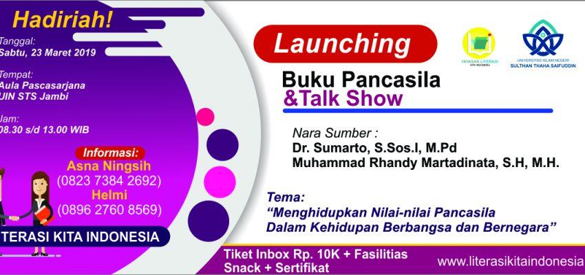 Launching Buku Pancasila Karya Bersama