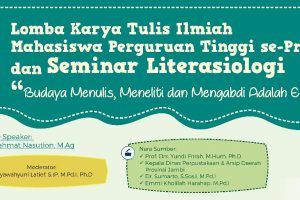 """Pegiat Literasi """"Seminar Literasiologi"""""""