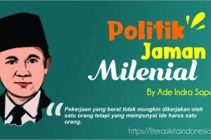 Politik Jaman Milenial