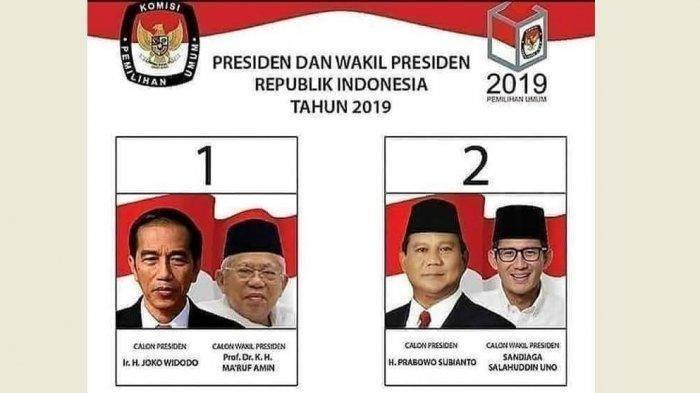 Hasil Real Pilpres 2019