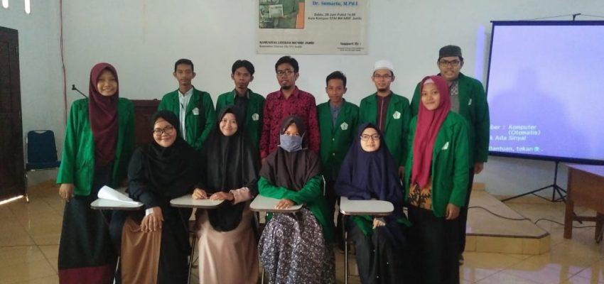 """Pelatihan Penulisan Artikel """"Dr. Sumarto"""" Literasi Kita Indonesia"""