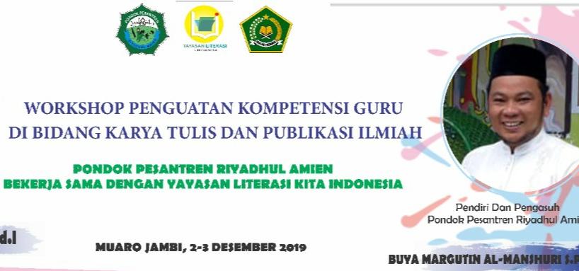 Workshop Peningkatan Kompetensi Guru – Pondok Pesantren Riyadhul Amien