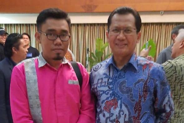 Bersama pak Duta Besar Indonesia untuk Brunei Darussalam, Dr. Sujatmiko, M.A