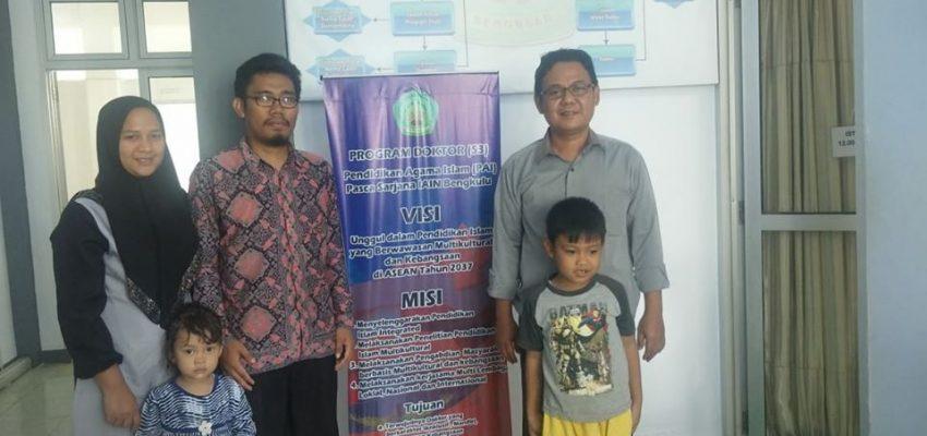 Diskusi Di Ruangan Prodi PAI S3 IAIN Bengkulu