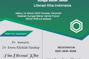Workshop Karya Tulis dan Publikasi Ilmiah Ponpes. Serambi Makkah