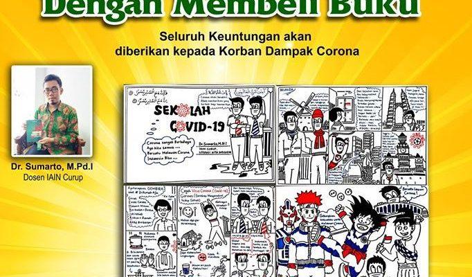 Ayo Donasi Buku Membantu Korban Dampak Virus Corona
