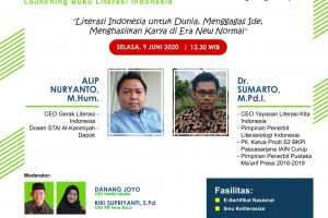 "Literasi Indonesia ""Berkarya Pada Masa Pandemi"""