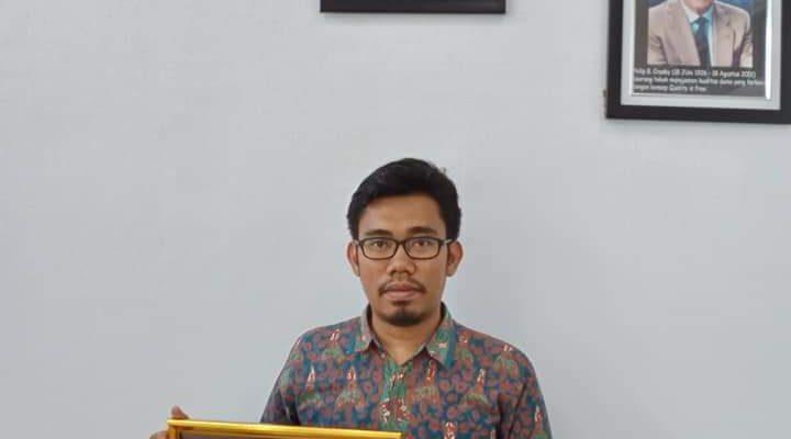 Founder Literasi Kita Indonesia Mendapatkan Sertifikat Pengakuan Karya dari PABKI