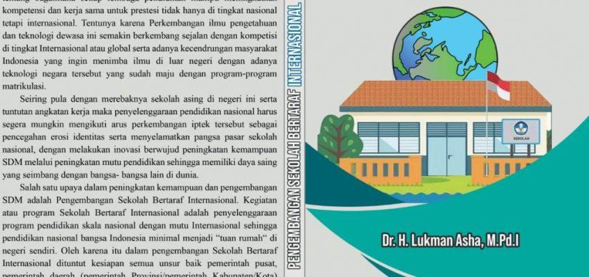 Selamat Atas Terbitnya Buku Pengembangan Sekolah Bertaraf Internasional