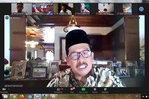 Wakil Menteri Agama RI, Zainut Tauhid Sa'adi, Rumah Moderasi Beragama ; Insan Moderat.