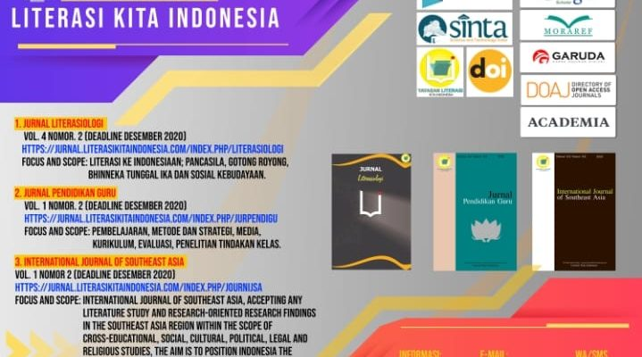 Call For Paper Jurnal Literasi Kita Indonesia
