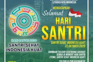 """Momentum Hari Santri, """"Call For Article: Literasi Kita Indonesia"""""""
