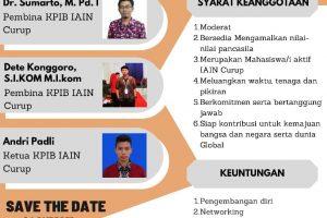 OPEN RECRUITMENT KPIB IAIN CURUP BEKERJA SAMA DENGAN LITERASI KITA INDONESIA