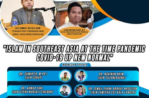 "Southeast Asia E – Talk ""Islam in Southeast Asia at the Time Pandemic Covid-19 Up New Normal"" (Dr. Sumarto as Speaker)"