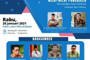 Dr. Sumarto, M.Pd.I Narasumber E-Talk Kontekstualisasi Nilai Nilai Pancasila