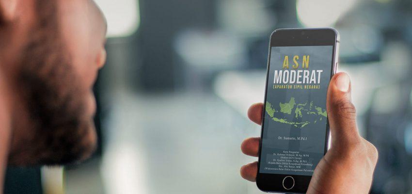 Dr. Sumarto, M.Pd.I : Hadirkan Buku ASN Moderat