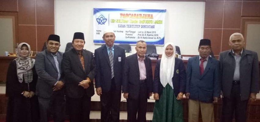 """Prof. Dr. H Abudin Nata """"Bangunan Pendidikan yang Kokoh dimulai dari Keluarga"""""""