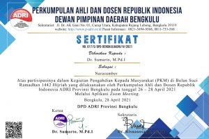 Literasi Kita Indonesia: PKM ADRI Bengkulu Berkarya Bermanfaat