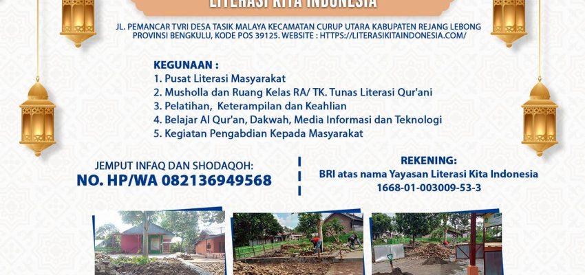 Pembangunan Rumah Belajar Masyarakat Literasi Kita Indonesia