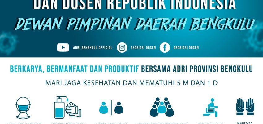 Perkumpulan Ahli dan Dosen Republik Indonesia ADRI DPD Provinsi Bengkulu