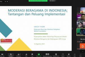 Moderasi Beragama di Indonesia; Tantangan dan Peluang Implementasi