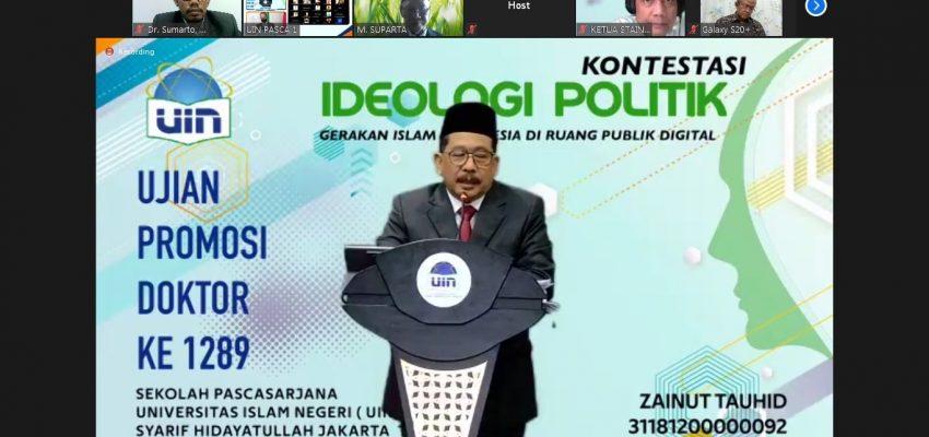 Kontestasi Ideologi Poltik Gerakan Islam Indonesia di Ruang Publik Digital